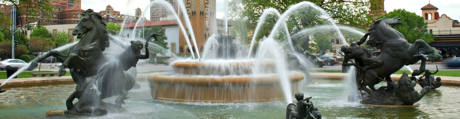 J.C. Nichols Memorial Fountain, Kansas City, Missouri