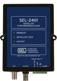 SEL-2401 Satellite-Synchronized Clock