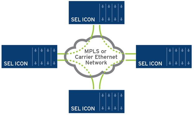 Icon Integrated Communications Optical Network Schweitzer
