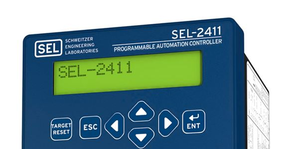 Sel 2411 Programmable Automation Controller Schweitzer