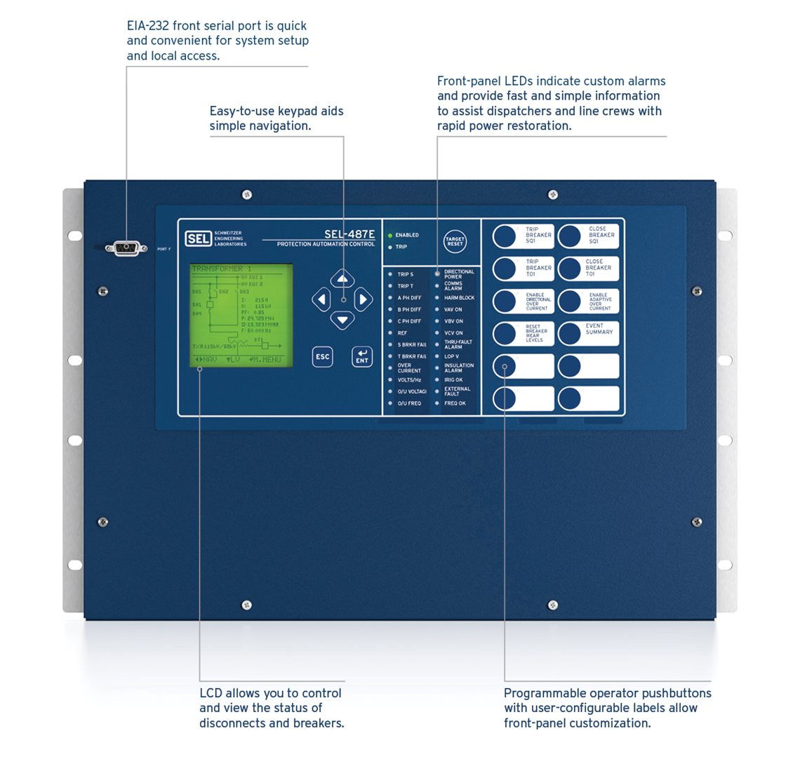 SELE Transformer Protection Relay - English electric relay application guide