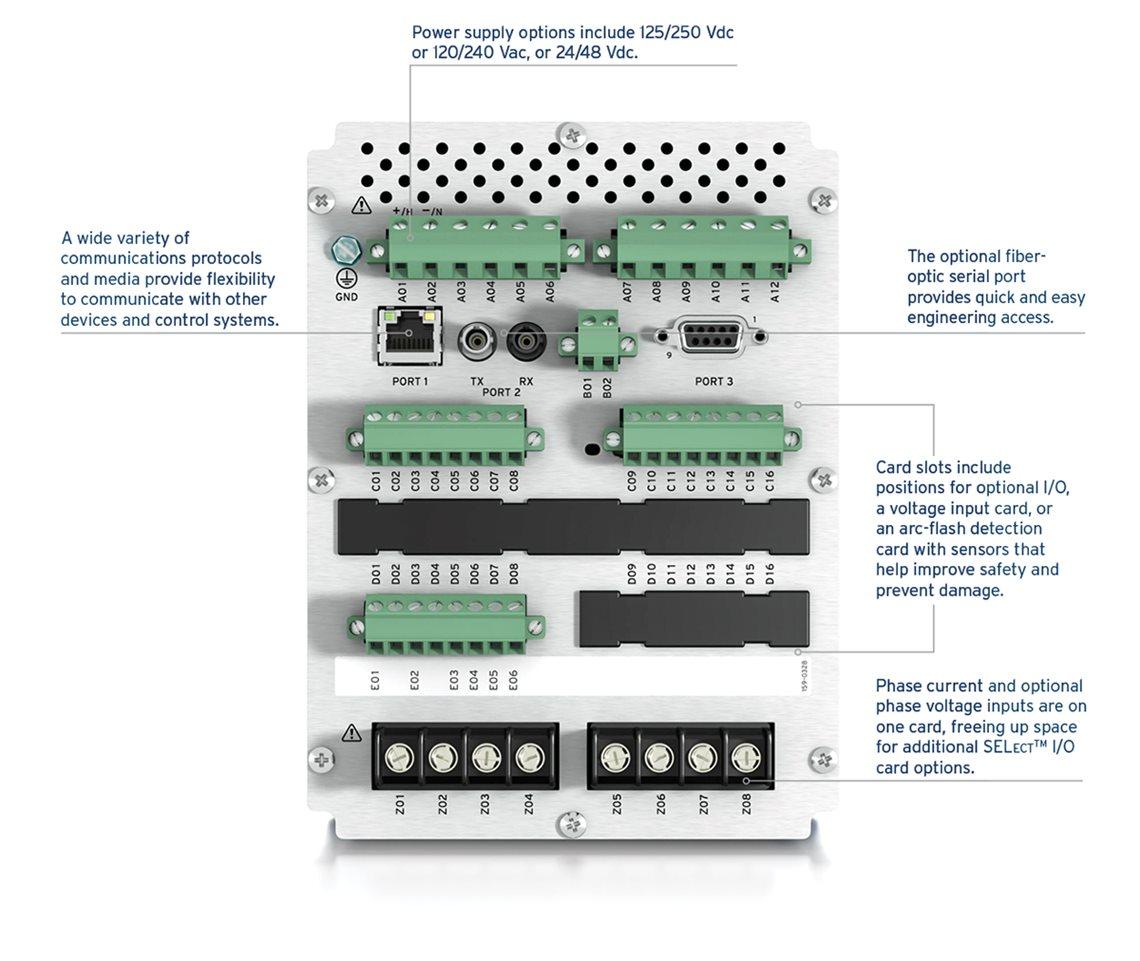 SELA Feeder Protection Relay - English electric relay application guide
