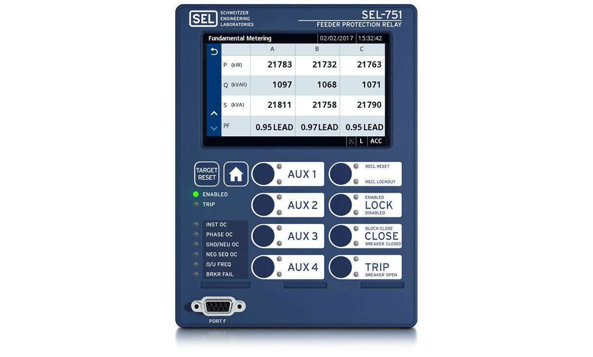 SEL Feeder Protection Relay - English electric relay application guide
