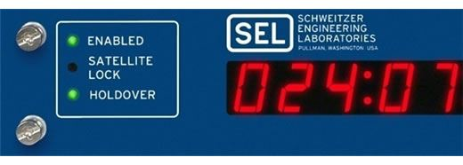 "The SEL-2407 has ""holdover"" capability and can maintain  ‹1 microsecond time accuracy for ~18 seconds."