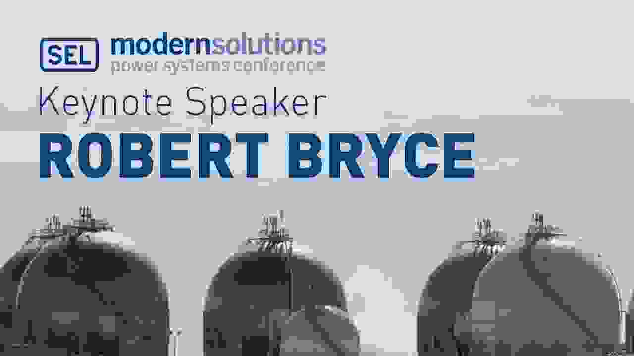 Modern Solutions 2015 Keynote Speaker Robert Bryce
